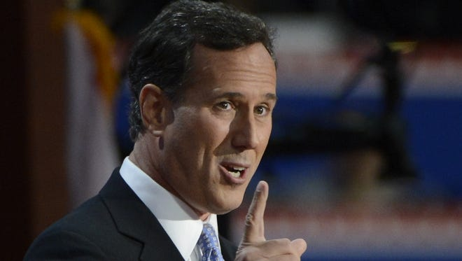Rick Santorum, former Pennsylvania senator, ran for president in 2012. The GOP failed to provide a vision that shows we care, he says.