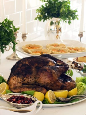 Cost of typical Thanksgiving dinner for 10 guests up to $49.48 in 2012.