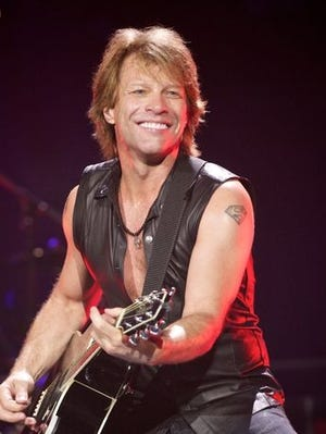 Jon Bon Jovi of the band Bon Jovi.