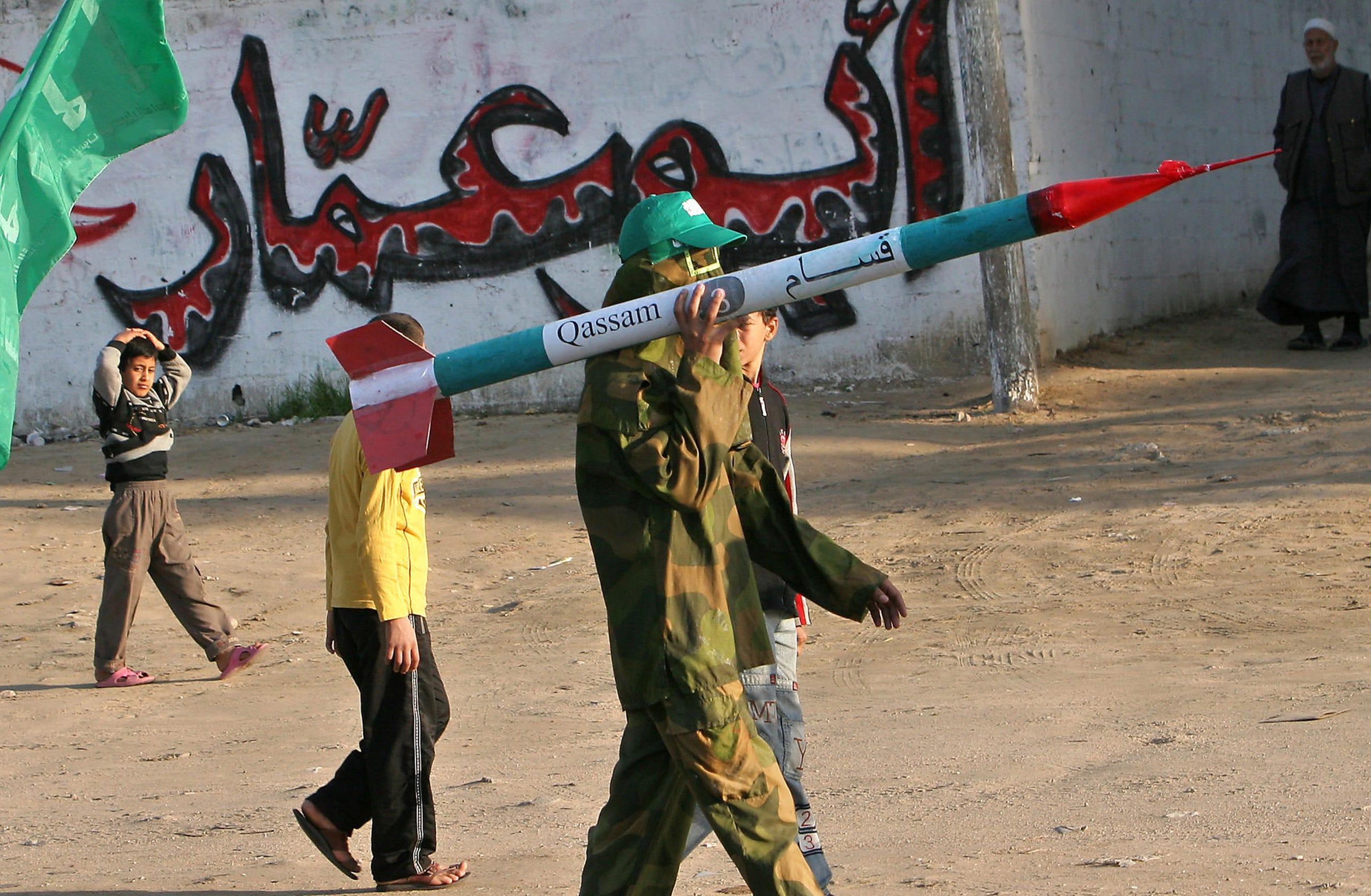 Iron Dome intercepts militant rockets