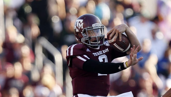 Hardly a blip on the Heisman radar a month ago, Texas A&M redshirt freshman QB Johnny Manziel has zoomed to the top of the list this week.