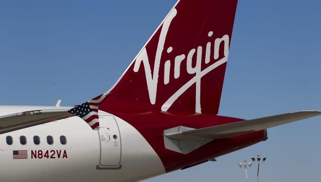 Virgin America puts nutritional information on its Travel Light menu.