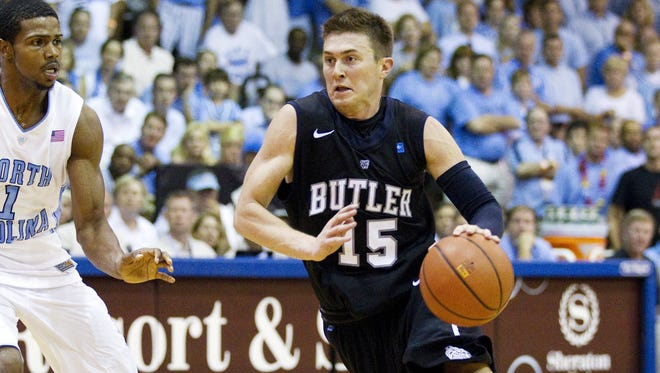 Butler's Rotnei Clarke scored 17 points in the upset of No. 9 UNC.
