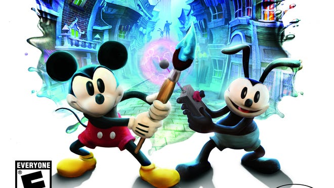 """In Disney's """"Epic Mickey 2: The Power of Two,"""" kids join Mickey and his long lost brother Oswald in an adventure set in Wasteland, a world of discarded or forgotten toons."""