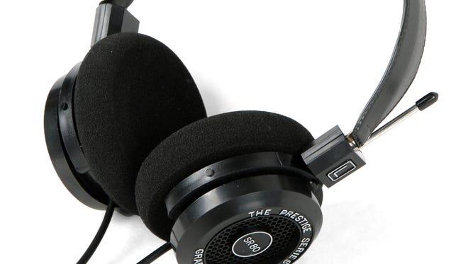The Grado SR80 headphones.