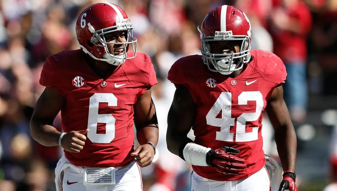Alabama is one win away from reaching the BCS title game for the third time in four seasons.