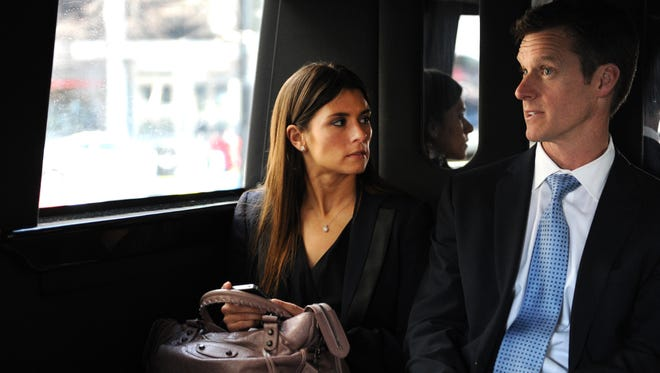 NASCAR driver Danica Patrick and her husband Paul Hospenthal, who are divorcing, took a media tour in the nation's capital in February.
