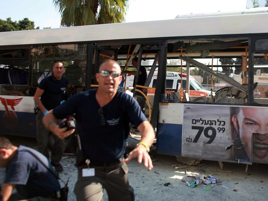 Tel Aviv bus attack