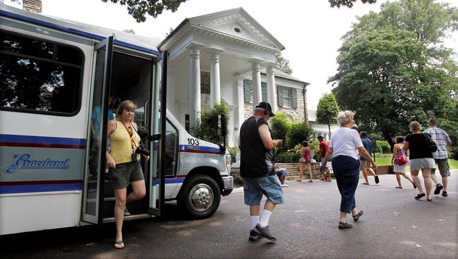 Elvis Presley's Graceland is four miles (about a 10-minute cab ride) from the Memphis International Airport.