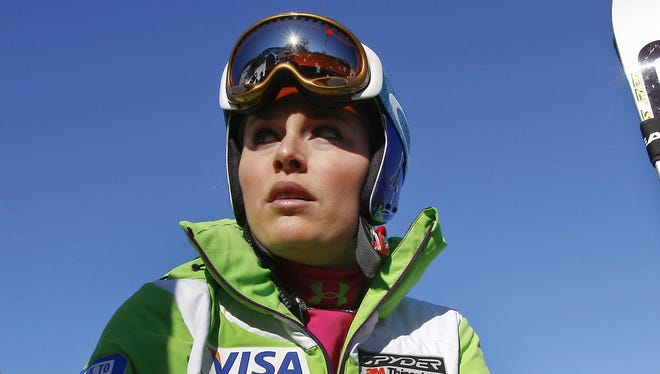 Lindsey Vonn will only race the giant slalom in Aspen this weekend.