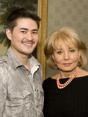 Thomas Beatie back when Barbara Walters interviewed him in 2008, after giving birth to his first child.