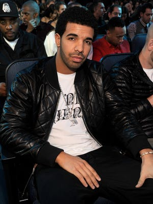 Drake attends the American Music Awards on Nov. 18 in Los Angeles.