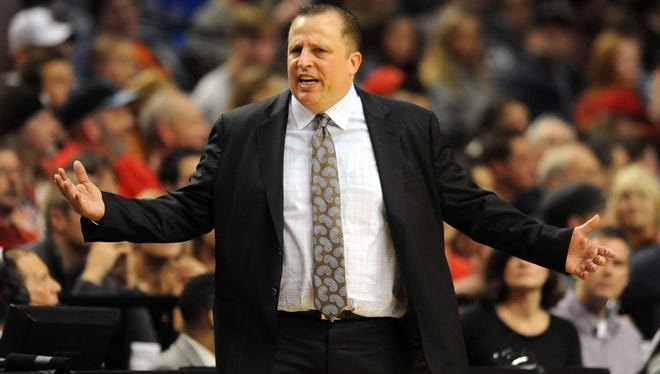 Chicago Bulls head coach Tom Thibodeau is considering making changes in his lineup to try to create a spark.