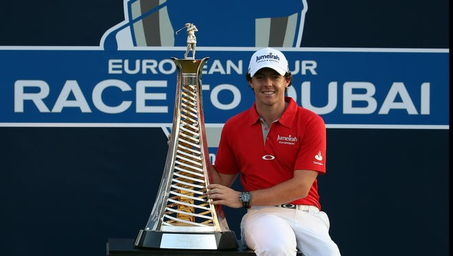 The Race to Dubai, which Rory McIlroy locked up with two events left to play in the season, will return in 2013 with some changes.