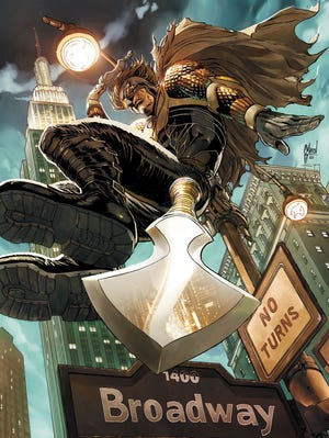 """Straight from Gotham City, Calvin Rose drops in on the Big Apple in an upcoming issue of """"Talon."""""""