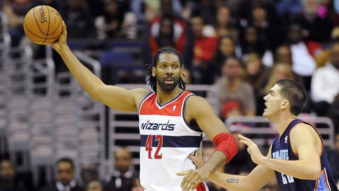 Washington Wizards center Nene (42) has returned to the lineup.