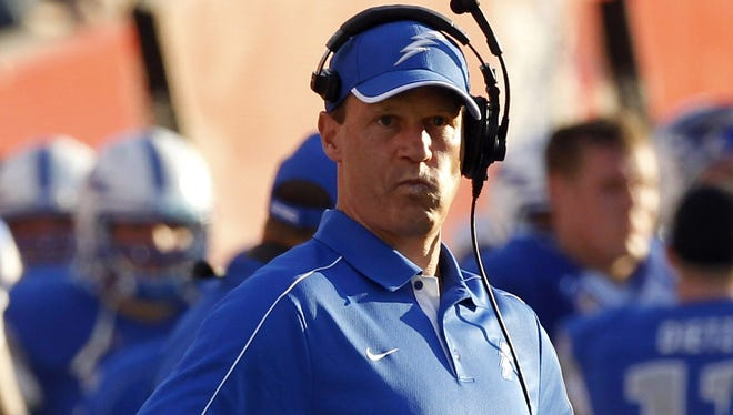 Air Force coach Troy Calhoun slid Florida ahead of Georgia into the No. 3 spot on his ballot after the Gators' win Saturday at Florida State.