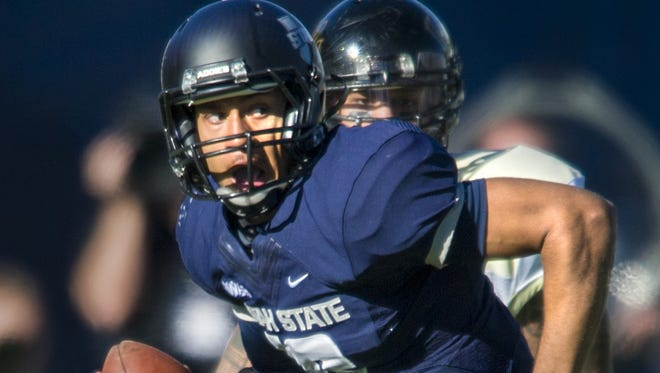 Quarterback Chuckie Keeton and WAC champion Utah State will wrap up their season Dec. 15 in the Famous Idaho Potato Bowl in Boise.