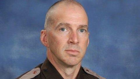 Baldwin County Sheriff's Deputy Scott Ward is shown in this undated photo. Ward was fatally shot Friday in Fairhope, Ala.
