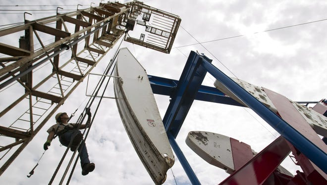 The nation's oil and gas boom has been giving a big boost to some communities,