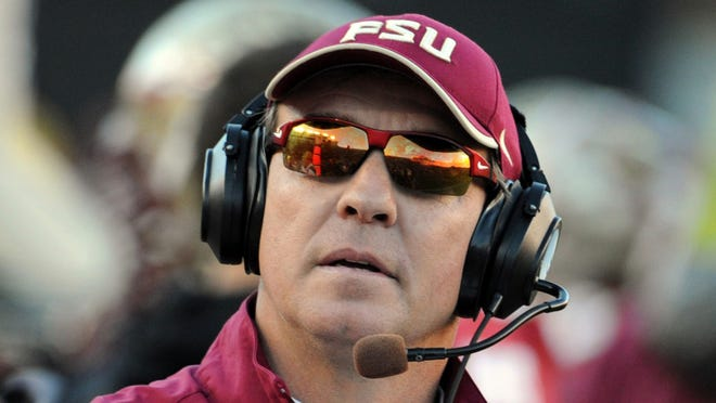 Florida State Seminoles head coach Jimbo Fisher has led his team to a 10-2 record this season and is one win away from claiming the ACC championship.