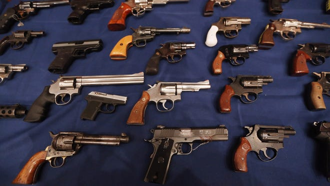 This year's black Friday sales of firearms resulted in a record number of background checks