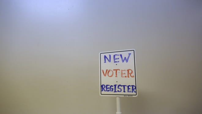 A polling station in Richmond, Wis., on Nov. 6.