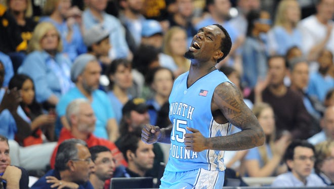 North Carolina has ruled out sophomore guard P.J. Hairston after he sprained his left knee during practice. Hairston, the third leading scorer for the Tar Heels, will not travel with team to No. 1 Indiana.