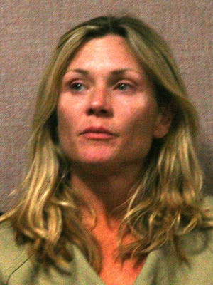Actress Amy Locane-Bovenizer at arraignment in June 2010.