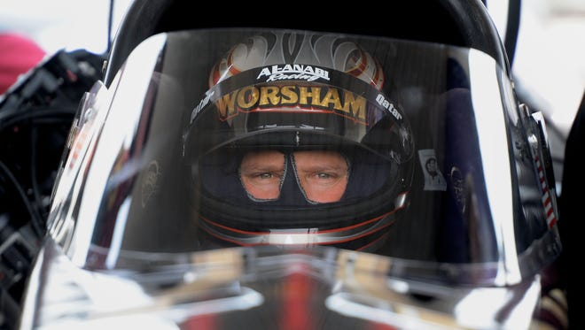 Top Fuel driver Del Worsham won the 2011 title before retiring.