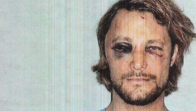 This photo, made available in Los Angeles Superior Court documents released Nov. 26, shows Gabriel Aubry, who was arrested after a Thanksgiving confrontation at Halle Berry's house with the actress' fiance, Olivier Martinez.