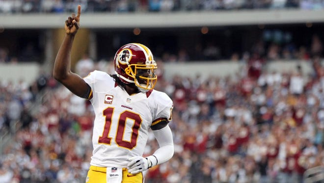 Robert Griffin III's big game vs. the Cowboys has the Washington Redskins making a charge toward the playoffs.