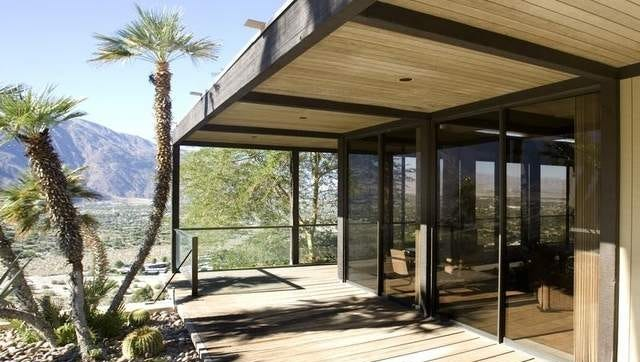 The William Holden house in Palm Springs had been owned by actress Allison Janney and restaurant consultant Gregg Rapp.