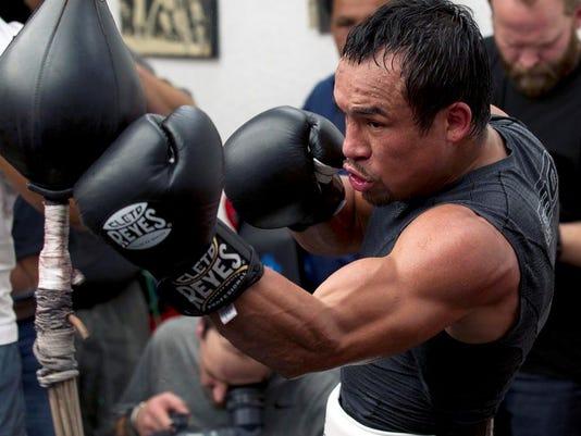 Marquez workout