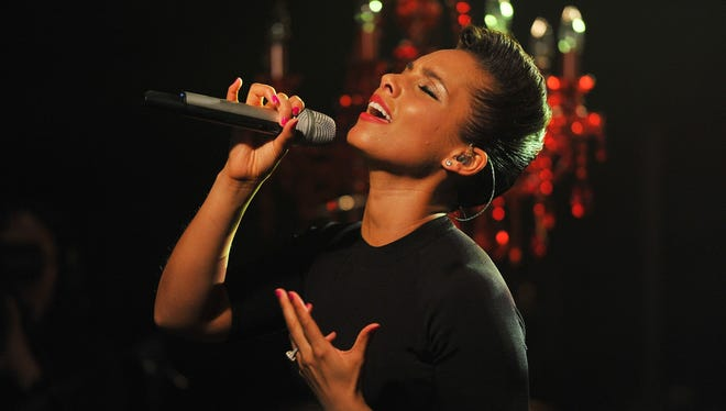 Alicia Keys performs onstage at iHeartRadio Theater on Tuesday in New York City.
