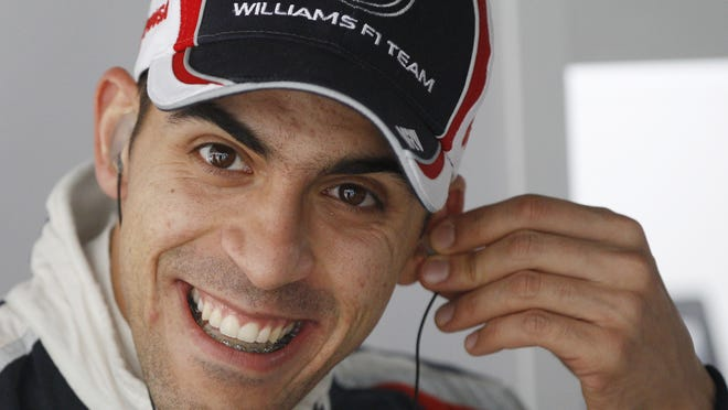 Pastor Maldonado, who finished 15th in this season's Formula One points standings, will remain in one of two Williams seats in 2013.