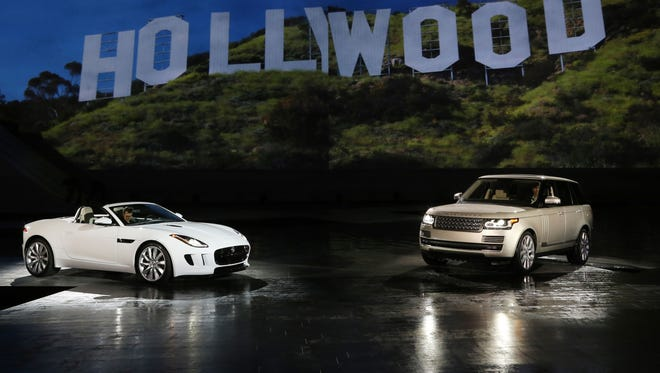 Jaguar Land Rover celebrated the U.S. arrival of the Jaguar F-TYPE and the all-new Land Rover Range Rover tonight at a special VIP preview with a dynamic reveal of both models at Paramount Pictures