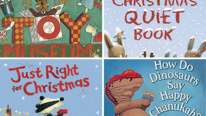 Check out these four holiday-themed children's books.