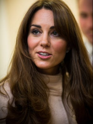 Catherine Duchess of Cambridge has a new hair do.