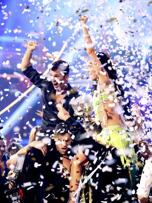 Melissa Rycroft and Tony Dovolani were crowned champions of the all-star DWTS.