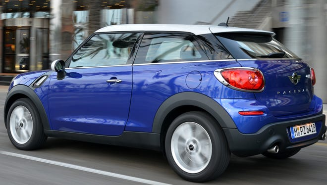 Mini is introducing a seventh model, the Paceman