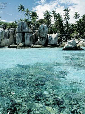 Seychelles photo from the book National Geographic's 'World's Best Travel Experiences.'