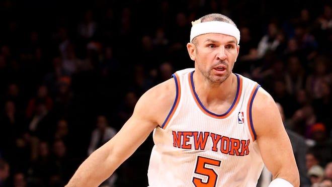 New York Knicks point guard Jason Kidd won't play against Milwaukee tonight.