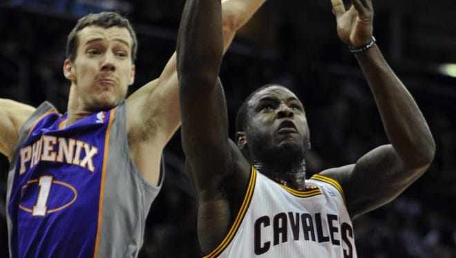 Cleveland Cavaliers shooting guard Dion Waiters (3) has a finger injury, but has been cleared to play.