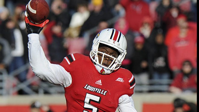 Louisville quarterback Teddy Bridgewater enters Thursday's game trying to shake the effects of an injury to his left (non-throwing) wrist.