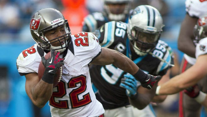 Bucs RB Doug Martin has exceeded 100 yards from scrimmage in six of his past seven games.