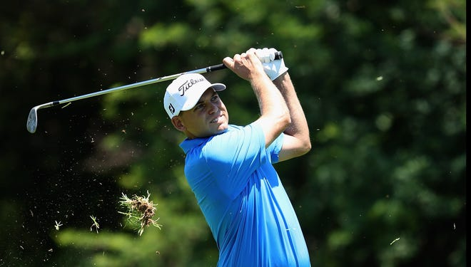 Bill Haas of the USA grabs a share of the first-round lead Thursday at the Nedbank Golf Challenge in Sun City, South Africa.