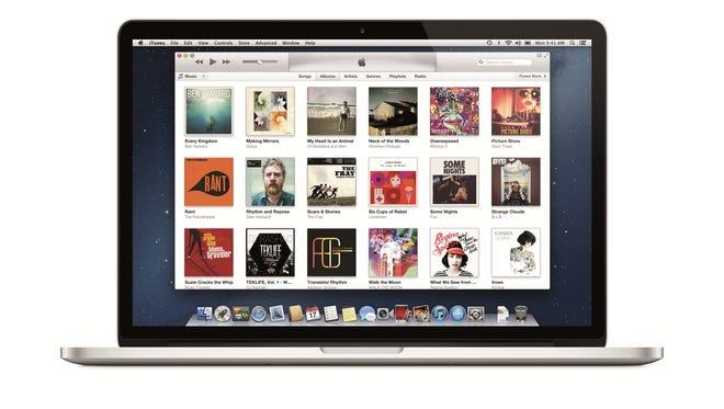 A screenshot of Apple iTunes.