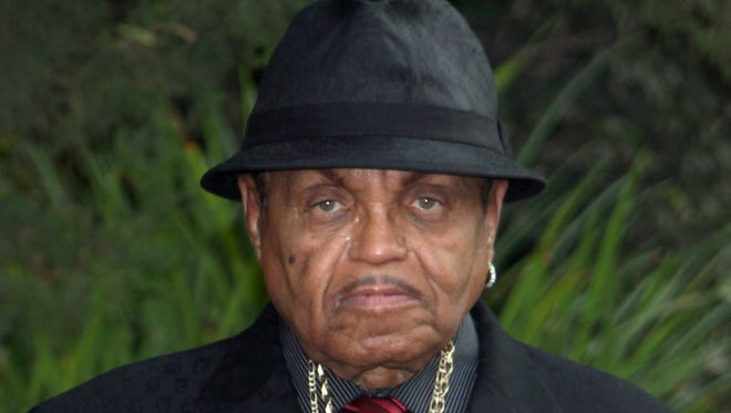 In this Sept. 3, 2009 photo, Joe Jackson leaves the family residence in Los Angeles for his son's funeral.