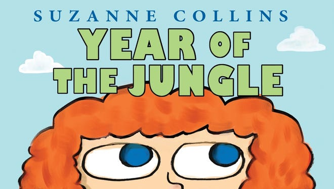 Cover of Suzanne Collins' new book coming out next year, 'Year of the Jungle.'